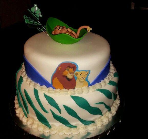 lion king baby shower cake cakes pinterest