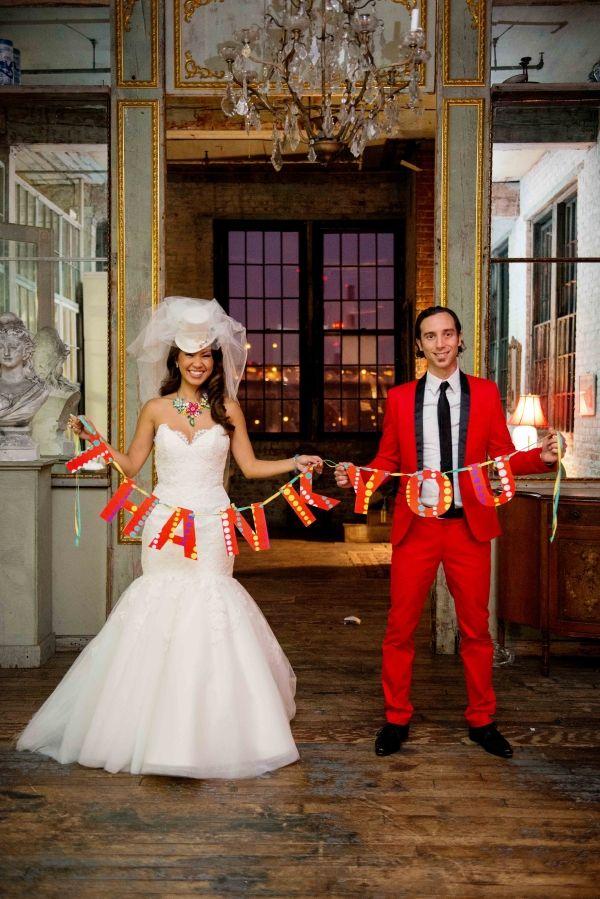 Long Island City Circus Wedding