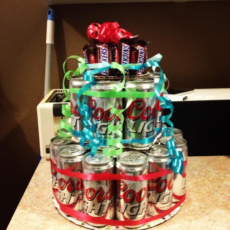 Birthday Beer Cake Special Occassions. Pinterest