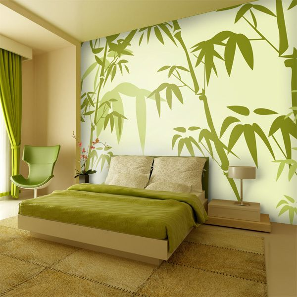 Design Tapete Big Bambus : Tapeten – Big Bambus – Tapete – ein Designerst?ck von Wandtattoo-yd