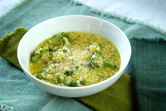 Marcella Hazan's broccoli and pasta soup | Soups and Stews | Pinterest