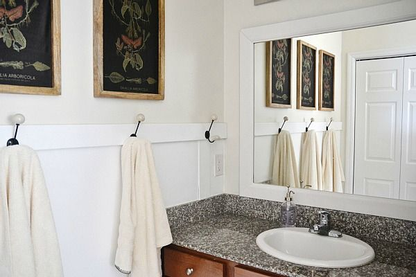 DIY Bathroom Mirror Frame DIY Pinterest