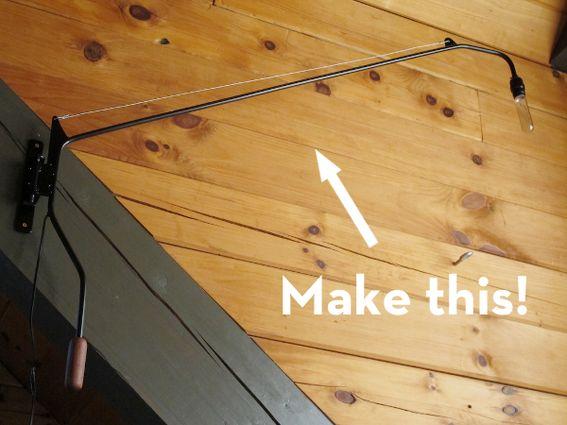 Make it a diy minimalist swing arm lamp for Diy minimalist decor
