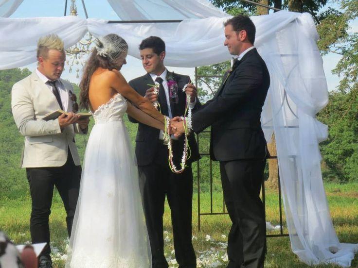 Irish Wedding Handfasting Ceremony
