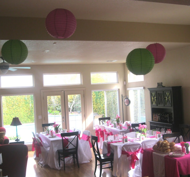 pink and green baby shower pink green baby shower pinterest