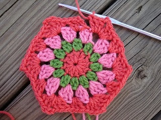 Crochet Pattern: Granny Square Dishcloth