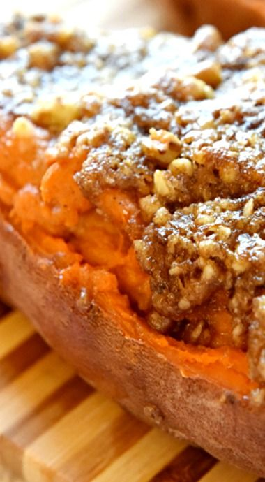 ... sweet potatoes with spiced walnuts baked yams with walnuts recipes