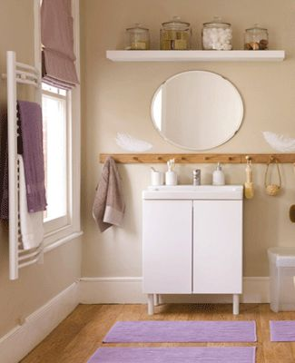 Staging home interiors small bathroom decorating ideas for Staging a bathroom ideas