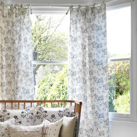 How to make tie-top curtains | DIY | Pinterest