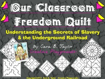 Black History Month~Classroom Freedom Quilt Activity