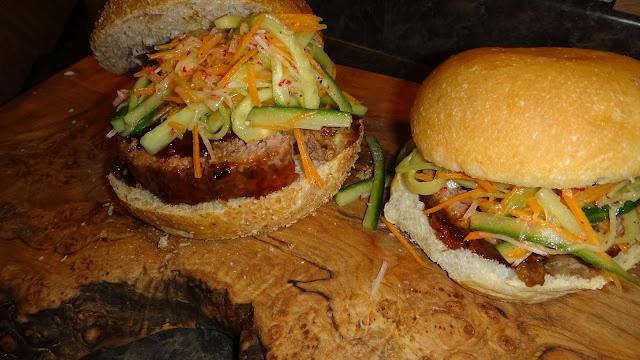 Hoisin Glazed Meatloaf Sandwiches | Food | Pinterest