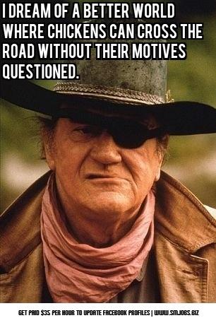 ... 'Duke' forever. | Very Funny Humorous Quotes & Jokes Online | Pin
