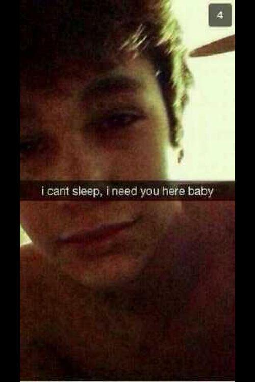 imagine Austin Sending you this snapchat OMFG ️