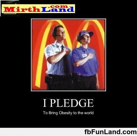 Macdonald Pledge Bring Obesity The World
