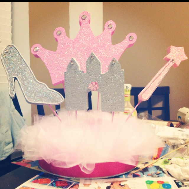 princess baby showers baby shower centerpieces and shower