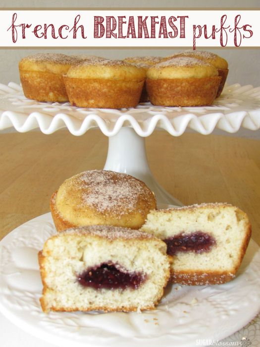 ... Crafty Mom: Guest Post: French Breakfast Puffs from Sugar Blossoms