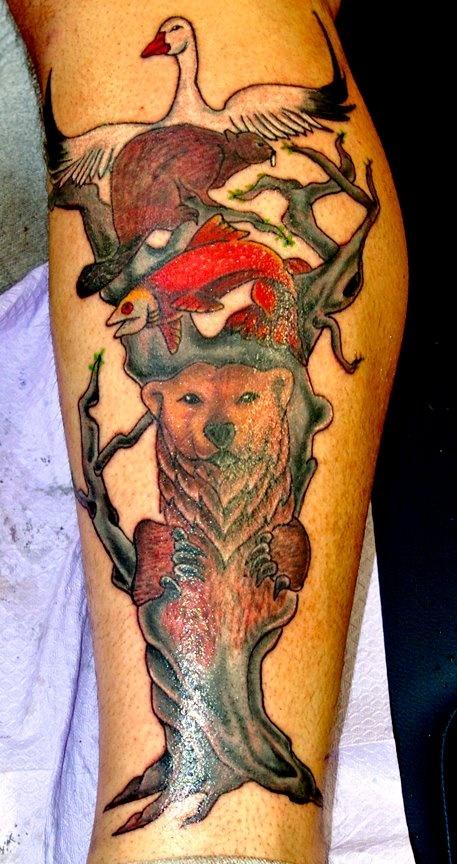 Animal Totem Tattoo  TATTOOS Pinterest