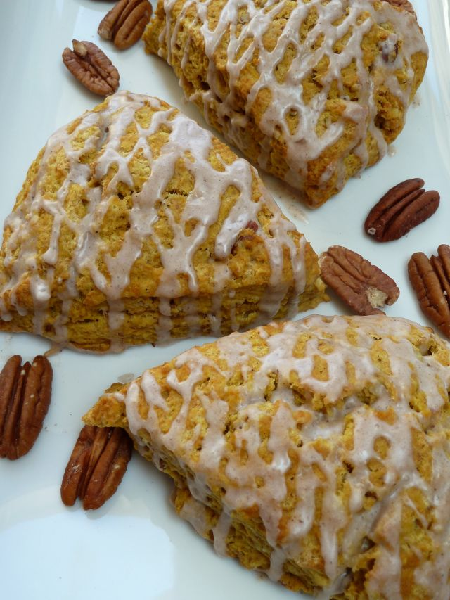 ... Pecan Scones with Spiced Glaze | Donuts, Biscotti & Scones