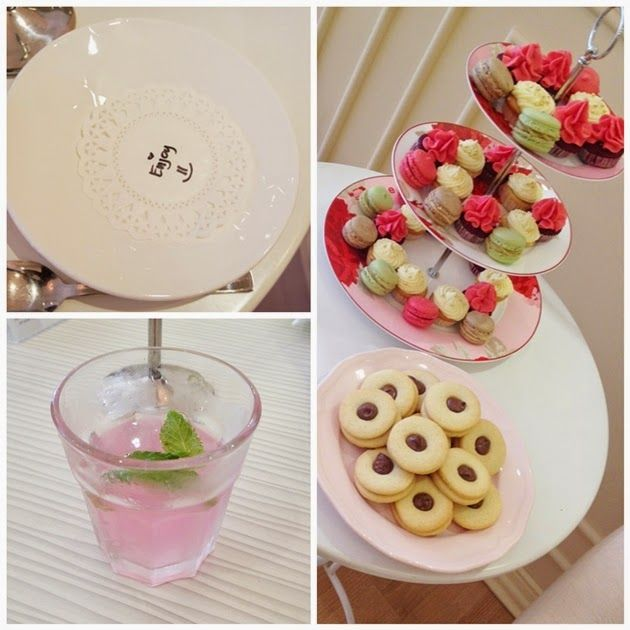 Rosewater Lemonade at The Beauty Blogger Tea Party