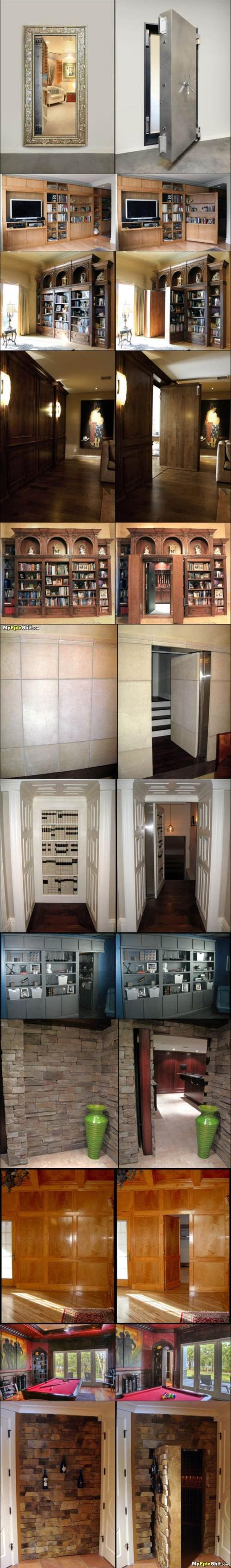 Man Cave Secret Room : Who doesn t want a secret room housey wonderfulness