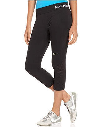 Nike Leggings, Logo Active Capris - Womens Yoga - Macy's. want.