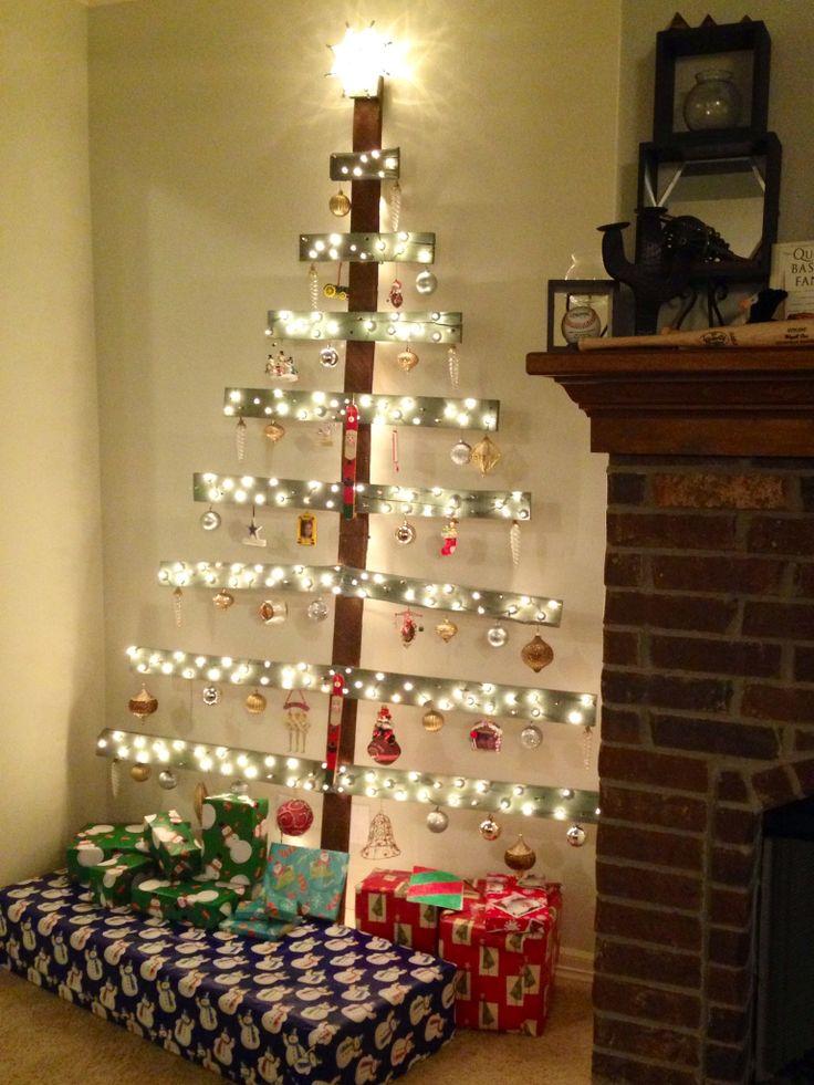 Pallet christmas tree church ideas pinterest for Pinterest pallet christmas ideas