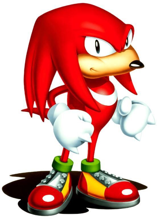 classic knuckles the echidna