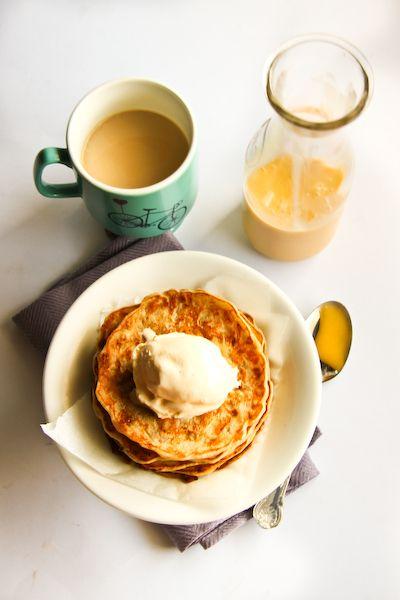 ... Banana Pancakes with Lemon Coconut Curd - Guest Post on Rasa Malaysia