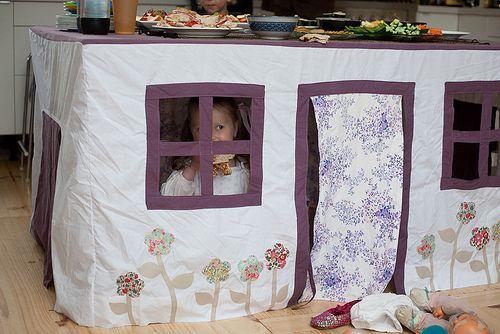 Домик для детей сшить сам