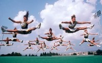 Evolution of Cheerleaders
