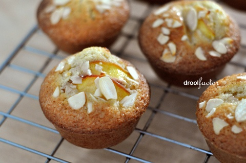Peach, Almond and Marmalade Muffins | Baking!!! | Pinterest