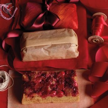 ... cranberry sauce. Cranberry-Almond Upside-Down Cake - Whole Living Eat