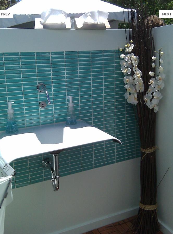 Small Rectangular Tile Bathroom Ideas Pinterest