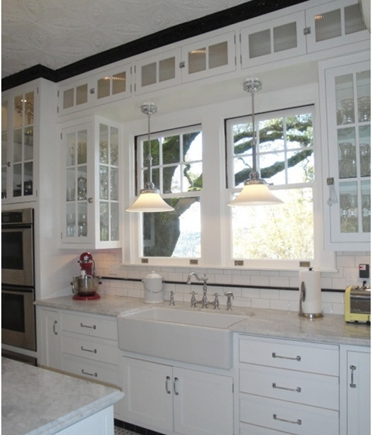 Glass cabinet doors home kitchen dining pinterest for Cabinets with glass doors in kitchen