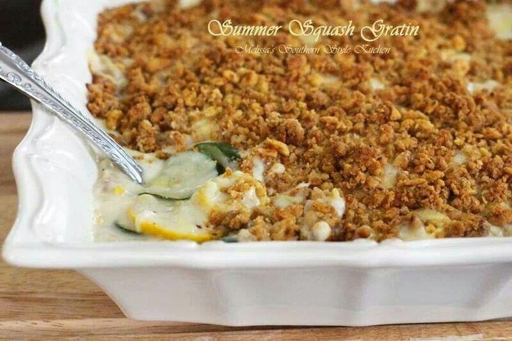 Summer Squash Gratin | Food | Pinterest
