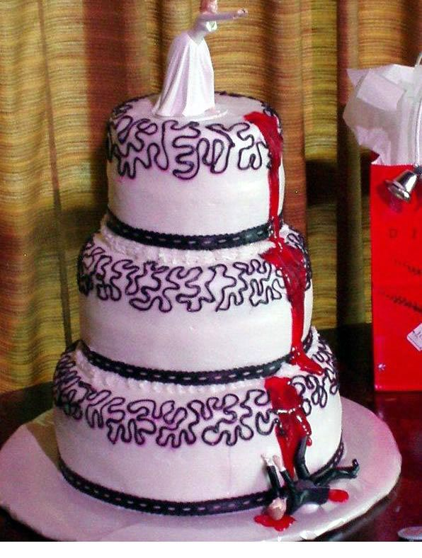 Best. Wedding cake. Ever.