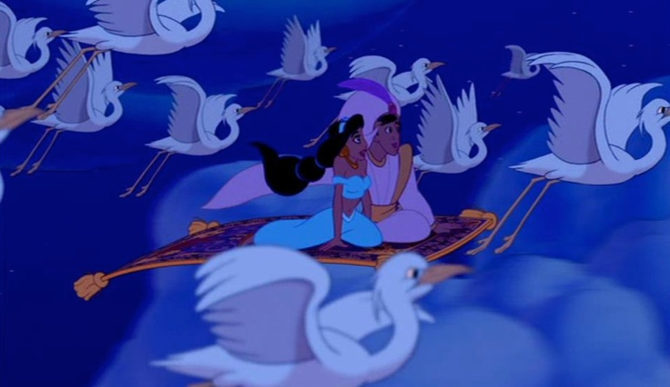 """Tell me, Princess, now when did you last let your heart decide?"" - Aladdin"