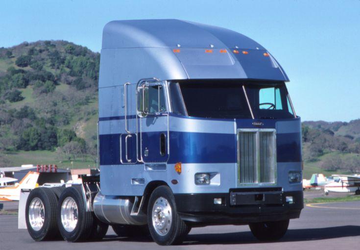 Peterbilt Cabover Biggg Trucks Pinterest