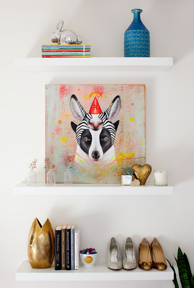 Interior Styling - Sarah Yates / Painting by Matt Stalling