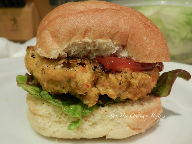 feta stuffed quinoa burgers....strange but I would try it at least!