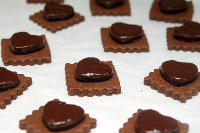 CHOCOLATE VALENTINE COOKIES w/ peanut butter cups and/or peppermint ...