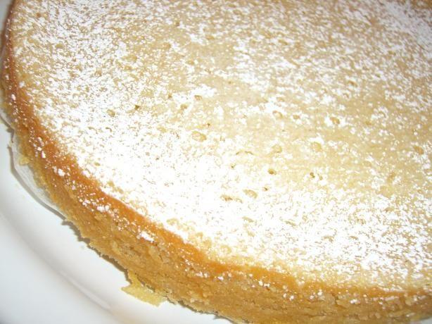 Lemon Sour Cream Cake   Recipe