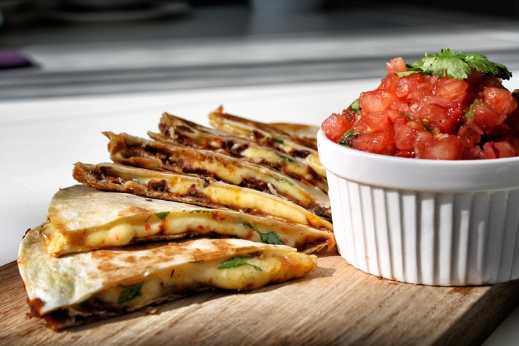 "Quesadilla with red beans and cheese ""Tilžiukas"". Recipe in ..."