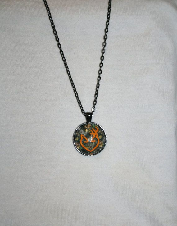 Browning Buck and Doe Necklace