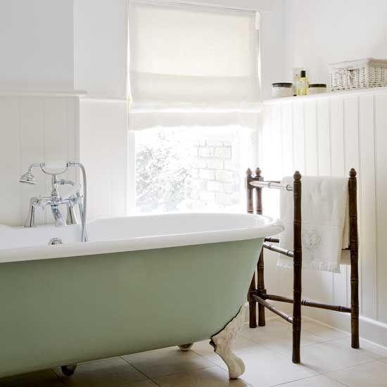 Sage Green Tub Bathroom Design Pinterest