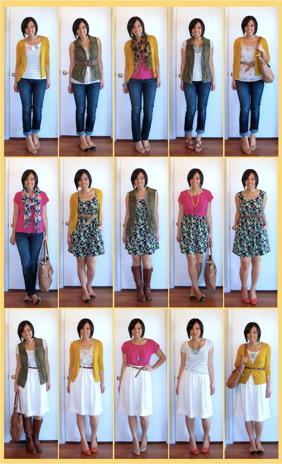 Putting Me Together: Another 8 Pieces, Another 15 Outfits