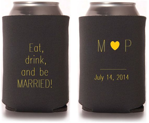 200 Custom Wedding Koozies To Have And To Hold And To Keep Your Beer