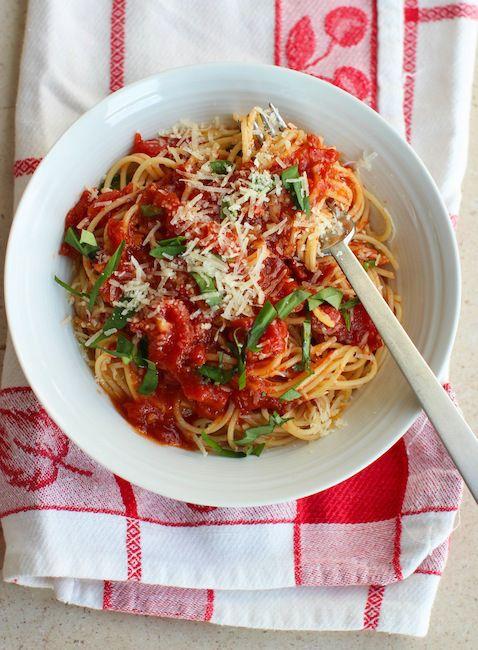 Five Minute Tomato Sauce | Food Ideas | Pinterest