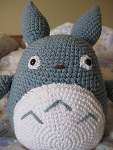 Amigurumi Totoro Ohje : Amigurumi - Totoro Amigurumi Pinterest