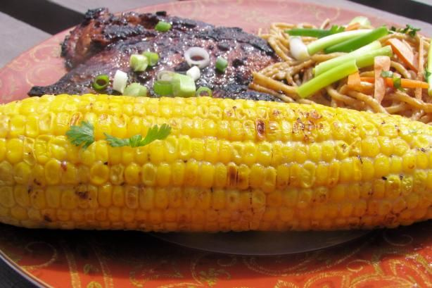 Cambodian Grilled Corn Recipe adapted from Primal Grill with Steve ...